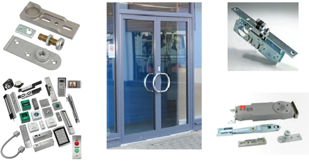 Aluminium Door and Parts Image